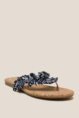 L4L Indy Sandal - Black/White