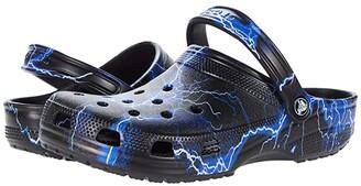 Crocs Classic Clog - Seasonal Graphic (Rainbow) Clog Shoes