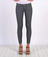 Henry & Belle Railroad Super-Skinny Ankle Jeans