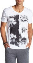 Kinetix Life Is A Beach Front Graphic Print Tee