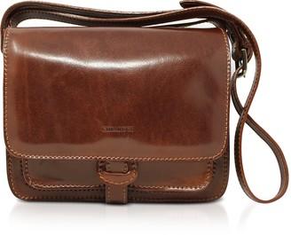 Chiarugi Genuine Leather Flap Shoulder Bag