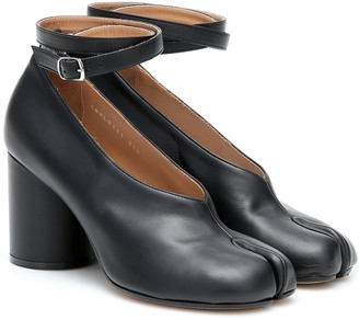Maison Margiela Tabi leather pumps