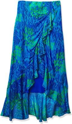 Ramy Brook Women's Animal Printed Kyle Midi Skirt