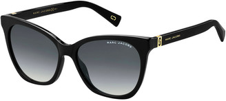 Marc Jacobs Acetate Rectangle Gradient Sunglasses