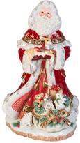 Fitz & Floyd Yuletide Holiday Santa Figurine