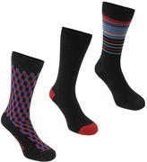 Firetrap Blackseal Neps Three Pack Socks