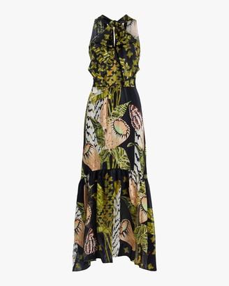 Temperley London Harmony Tie-Waist Dress