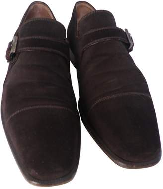 Fratelli Rossetti Brown Suede Lace ups