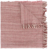 Forte Forte woven fringed scarf