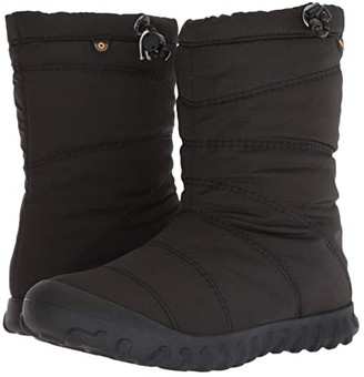 Bogs B Puffy Mid (Black) Women's Rain Boots