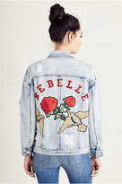 True Religion Womens Trucker Jacket