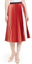 Ted Baker Women's Osla Colorblock Pleated Midi Skirt