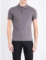 Armani Collezioni Cotton-piqué Polo Shirt