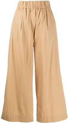 Woolrich Wide-Leg Cropped Trousers