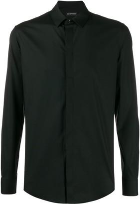 Emporio Armani Concealed Fastening Shirt