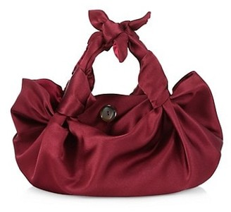 The Row Ascot Two Satin Hobo Bag