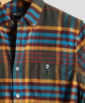 Todd Snyder Campfire Plaid Flannel Shirt