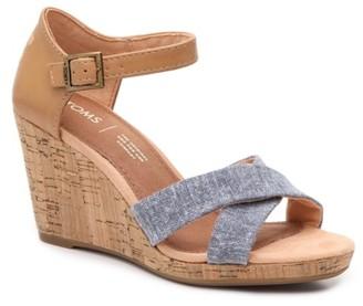 Toms Sienna Wedge Sandal