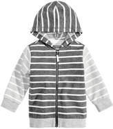 First Impressions Striped Hoodie, Baby Boys, Created for Macy's