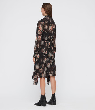 AllSaints Lizzy Eden Dress