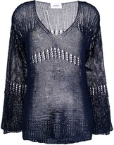 Dondup sheer knit jumper