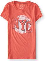 Aeropostale Womens Nyc Athletics Graphic T Shirt