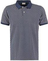 Knowledge Cotton Apparel Polo Shirt Ebony