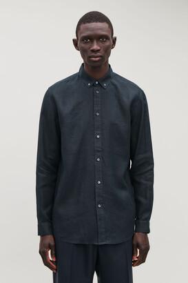 Cos Button-Down Hemp Shirt