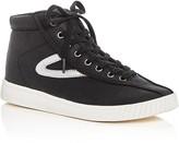 Tretorn Nylite Metallic Stripe High Top Sneakers