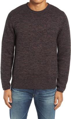 Schott NYC Mixed Cotton Crewneck Sweater