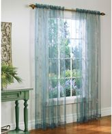 Commonwealth Home Fashions Josephina Sheer 84-Inch Rod Pocket Window Curtain Panel