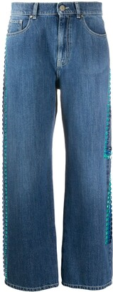 P.A.R.O.S.H. Ceans cropped jeans