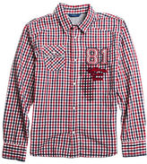 Guess Patched Check Shirt