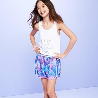 Girls' Tie-Dye Design Pajama Shorts - More Than MagicTM