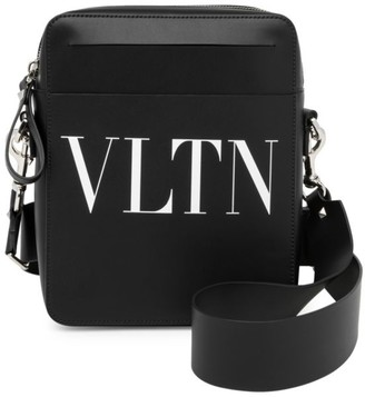 Valentino Garavani VLTN Leather Crossbody Bag