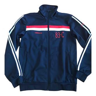 adidas Blue Polyester Jackets