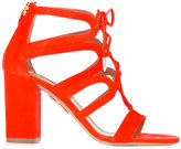Aquazzura 'Holli' sandals - women - Calf Leather/Leather - 39