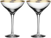 Kosta Boda Orrefors Morberg Champagne Glasses, Set of 2