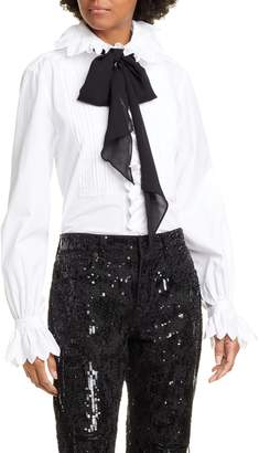 Polo Ralph Lauren Ruffle Long Sleeve Shirt