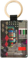 Paul Smith graphic print luggage tag