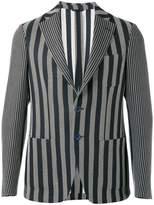Etro woven stripe blazer