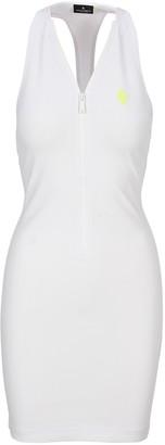 Marcelo Burlon County of Milan Mini Zipped Dress