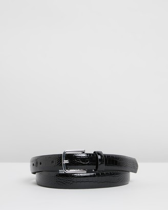 Topshop Crocodile Smart Belt