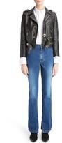 Toga Women's Studded Leather Moto Jacket