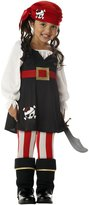 California Costumes girls Little Girls' Pirate Costume (6-8)