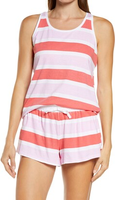 Sant and Abel Poppy Stripe Short Pajamas