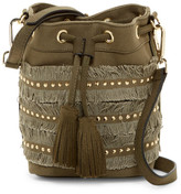 Steve Madden Brooks Drawstring Bucket Crossbody