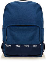 Wood Wood Blue Denim Ryan Rucksack