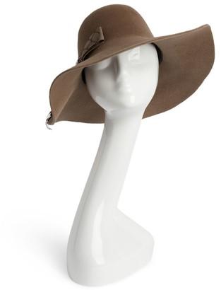 Nerida Fraiman Wide-Brim Hat