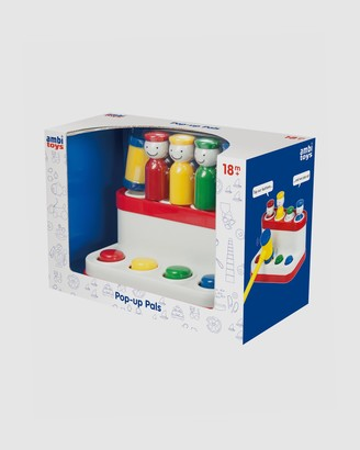 Ambi Toys - White Developmental Toys - Pop-Up Pals - Size One Size at The Iconic